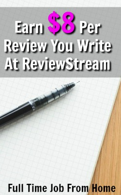 Learn How You Can Earn $8 Per Product Review You Write At ReviewStream!