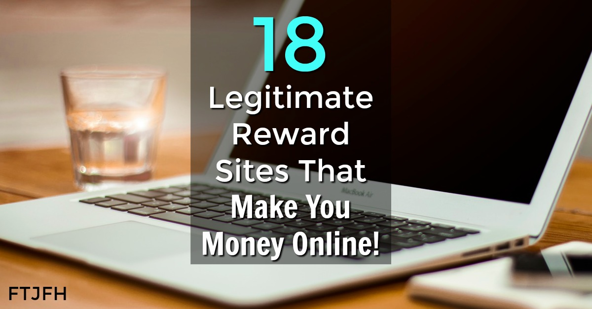 If you're looking to make extra cash, here's 18 legitimate reward sites that pay you to do things like take surveys, watch videos, complete offers, search, and much more!