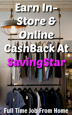 Learn How You Can Get Paid For Your Online and In-Store Shopping By Using Saving Star!