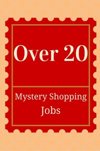 how to work as a mystery shopper