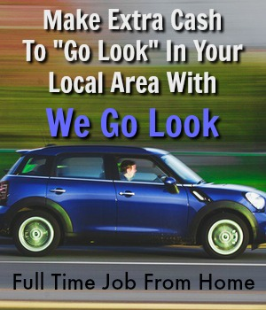Learn How You Can Make Extra Cash In Your Local Area For We Go Look. Jobs Start at $25 and Pay Up To $200