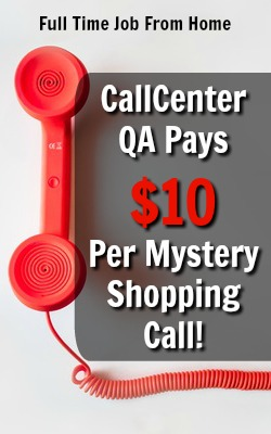 Learn How You Can Earn $5 Per Mystery Shopping Call You Make at CallCenter QA! Each call only lasts 10 minutes!