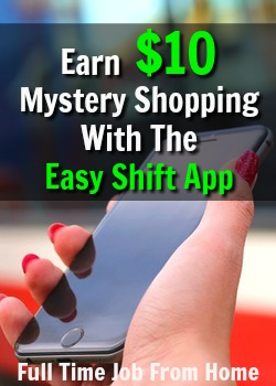 Learn How You Can Get Paid $5-$20 Per Mystery Shop with the Easy Shift App!
