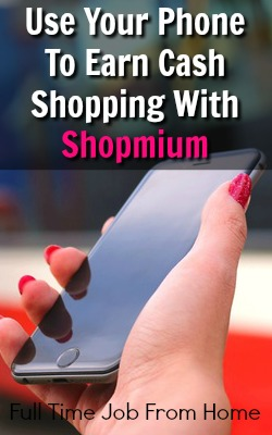 Use Your Smartphone To Earn Extra Cash While You Shop With the Shopmium App!