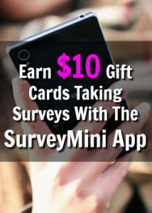 Learn How You Can Earn Cash Taking Surveys On Your Smartphone With The SurveyMini App!