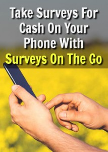 Learn How You Can Get Paid To Take Surveys On Your Phone With the Surveys On The Go App! Payments Made Instantly via PayPal Once You Earn $10!