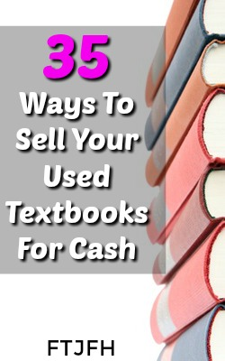 Do you have used textbooks laying around? I'll show you 35 ways you can get paid for those books. Plus an easy way to find the highest price online!