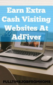Earn Extra Cash Visiting Websites With Adfiver. Free To Join & Even Easier To Earn!