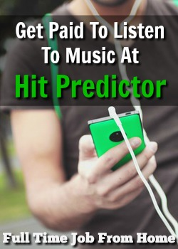 Learn How You Can Get Paid To Listen and Rate Your Favorite Music At HitPredictor!