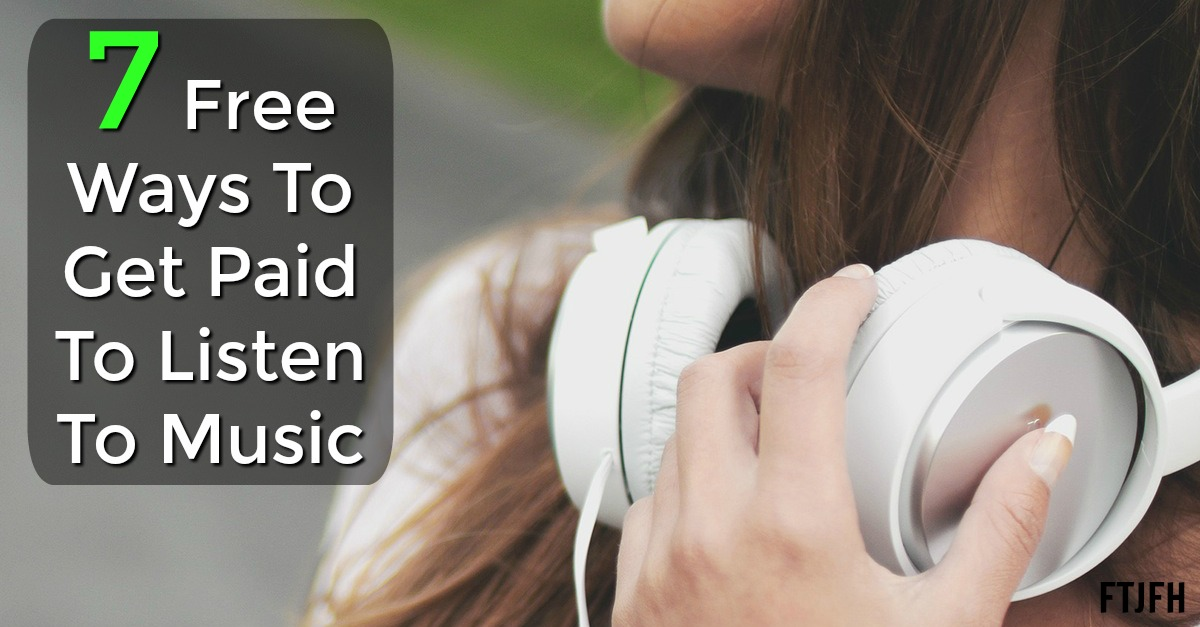 7 ways to get paid to listen to music online. All scam free and legit!