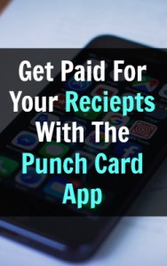 Learn How You Can Get Paid To Take Pictures Of Your Shopping Receipts With The Punch Card App!