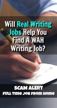 See if RealWritingJobs.com Will Help You Land The WAH Writing Job Of Your Dreams! My Guess You'll Think It's a Scam Too!