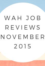 work at home job reviews