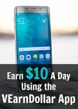 Learn How You Can Earn $10 Downloading Apps On Your Smartphone with the VEarnDollar App!