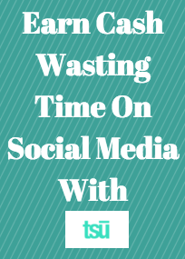 Learn How You Can Make Money Wasting Your Time On Social Media With tsu! You could be making money at tsu, but instead your reading this on Pinterest!