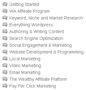 13 Classrooms where you can go to learn more and ask questions about specific areas of an online business