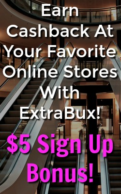 Learn How You Can Earn Cash Back for Your Online Shopping At ExtraBux! $5 Sign Up Bonus!