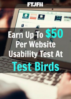 Learn How You Can Get Paid To Test Website and Earn Up To $50 Per Test at Test Birds!