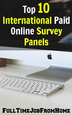 It's pretty easy to find legitimate paid online surveys in the US, but what about international members? I've put together a list of top 10 paid online survey panels that accept international members!