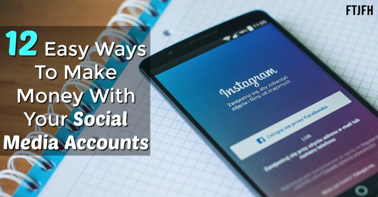Learn The Top 12 Ways To Make Money On Social Media Sites With Your Own Social Media Accounts!