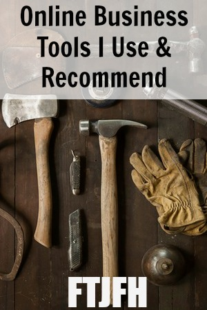 Do you run a website or blog? You probably have tools that you use every single day, I know I do. Here's the Online Business Tools I Use and Recommend to run my website!