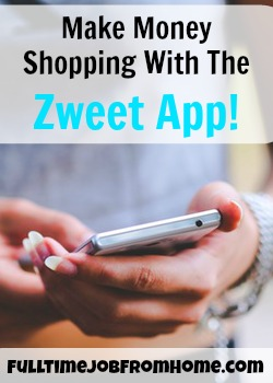 See if the Zweet App is A Special Paid To Shop App or Just Another Extra Income Shopping App!
