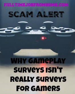 Learn Why GamePlay Surveys Says It's Surveys For Gamers, but really is just a normal survey site that's not worth joining!