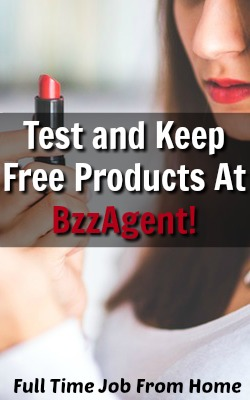 Learn How You Can Get Free Products To Test and Keep At BzzAgent!