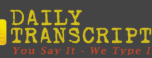 Daily Transcription Review is it a scam