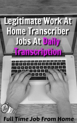 daily transcription transcriber job review is it a scam full