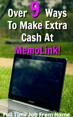 MemoLink offers over 9 ways to make an extra income online including shopping, watching videos, and referring friends!