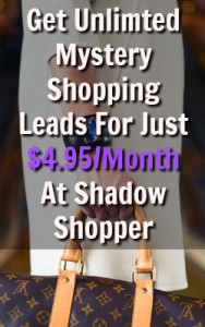 Learn How You Can Get Unlimited Mystery Shopping Jobs In Your Area For Just $4.95 A Month At Shadow Shopper! Is it really worth it though?