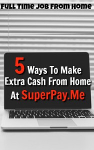 Learn 5 Ways You Can Make Extra Money Online At A Site Called SuperPay.Me!