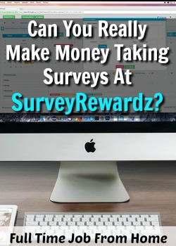 We All Know That Taking Surveys Online is Legitimate, but Can You Really Make Money Taking Surveys At SurveyRewardz?