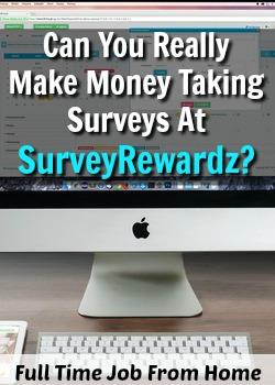 We All Know That Taking Surveys Online is Legitimate, but Can You Really Make Money Taking Surveys At SurveyRewardz?