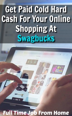 Learn How You Can Get Paid Cash Back to Over 1,000 Online Stores At Swagbucks!