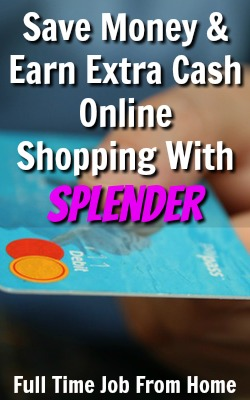 Learn How You Can Save & Earn Money Shopping Online with Splender