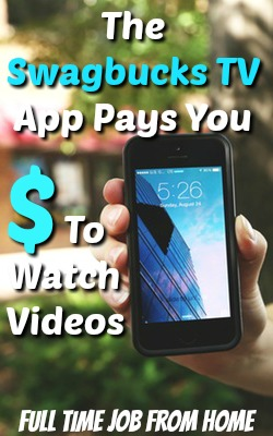 Learn How You Can Get Paid To Watch Videos On Your Smartphone With The Swagbucks TV App!