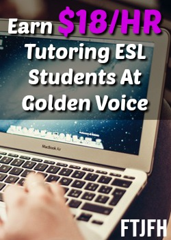 Learn How You Can Make $18 or More an Hour Tutoring ESL Students From Home With Golden Voice English Tutors!