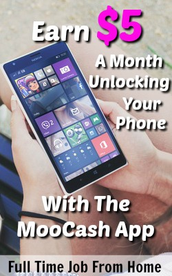 Learn How You Can Make $2-$5 a Month Just By Unlocking Your Android Phone With the MooCash App!