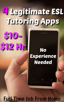 4 Legitimate ESL Student Tutoring Apps that Require No Tutoring Experience. Pay Via PayPal!