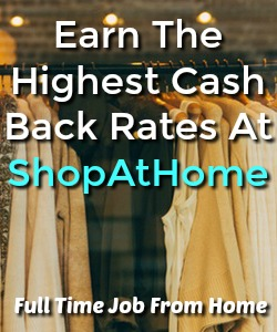 Learn How You Can Earn CashBack For Your Online Shopping At ShopAtHome. Has Some Of the Highest Cash Back Rates Available!