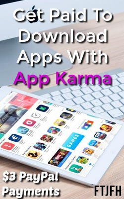 Learn How You Can Make An Extra Income Download Apps at AppKarma. PayPal payments available at $3!