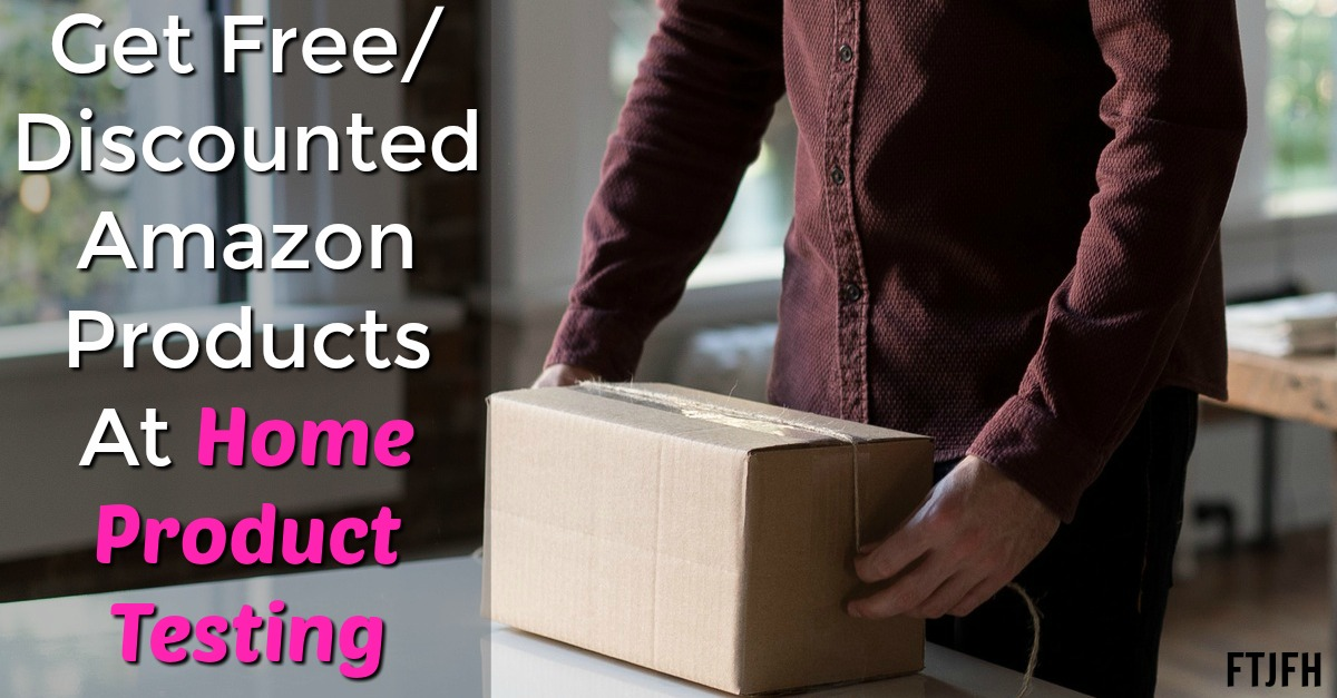 Learn How You Can Get Free or Discounted Amazon Products At Home Product Testing!