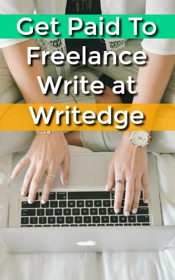 Learn How You Can Get Paid To Freelance Write At a Revenue Sharing Site Called Writedge!