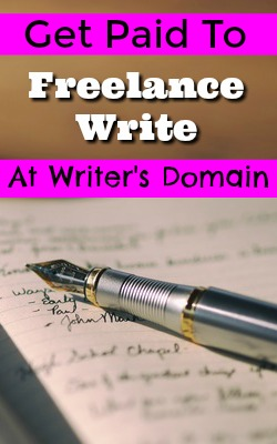 Learn How You Can Work At Home Freelance Writing At Writer's Domain!