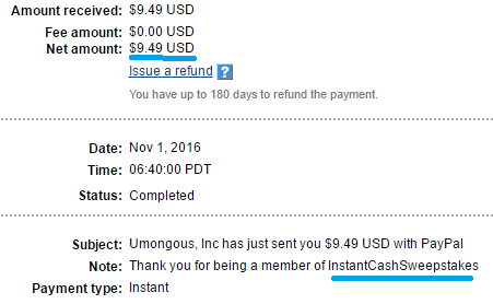 ics payment proof