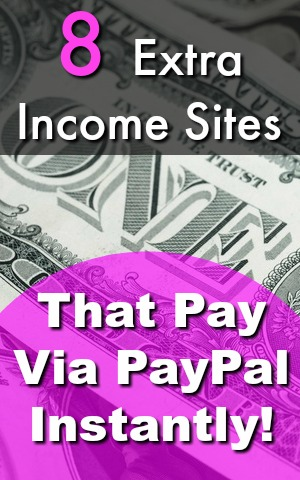 Are You Interested In Making Extra Money online? One of the worst parts is waiting for your earnings, but not with these sites! Here're 8 Sites That Pay Via PayPal Instantly!