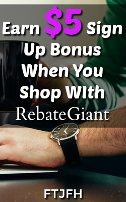 Learn how you can earn cash back for your online shopping with Rebate Giant. Payments made via PayPal and earn a $5 Sign-Up bonus!