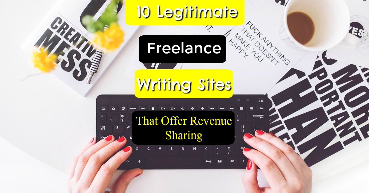 Are you a freelance writer? Take a look at these 10 freelance writing sites that offer revenue sharing!